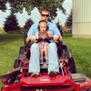 Learning how to mow the lawn