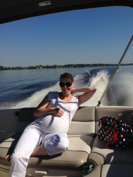 Beautiful day for boating