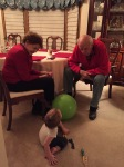 Getting to know Great Uncle Jimmie and Great Auntie Margo